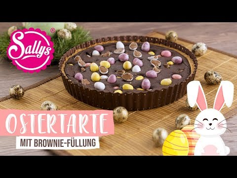 Ostertarte mit Brownie-Füllung / backen mit Iris / Sallys Welt