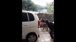 Cara Start Dorong Mobil Manual (Aki Tekor)