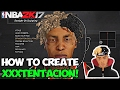 NBA 2K17 • HOW TO CREATE XXXTENTACION MYPLAYER TUTORIAL! • BEST XXXTENTACION CREATION ON 2K! #FREEX