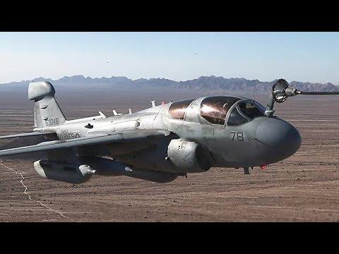 Marine Aviation: EA-6B Aerial Refuel Exercise