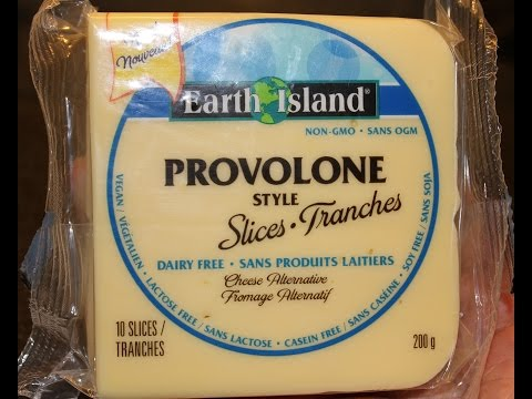 Product Review: Earth Island's Provolone Style Dairy Free Slices (vegan, non gmo, gluten-free)