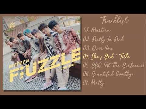 [Full Mini Album] MyTeen - F;UZZLE Mini Album