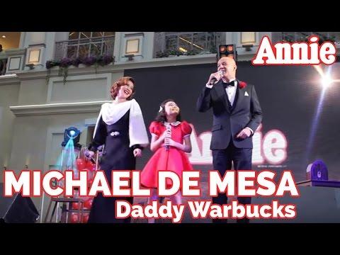 Annie The Musical   Michael De Mesa as Daddy Warbucks!