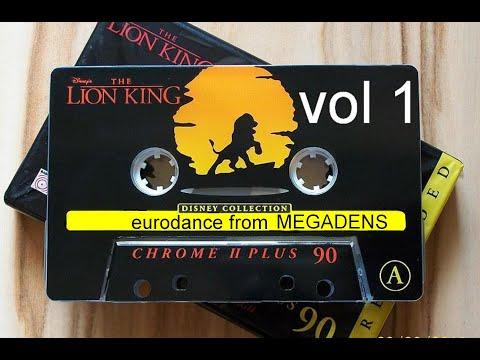 EuroDance от megadens  Vol 1  Дискотека 90-х  ( разный уровень громкости )