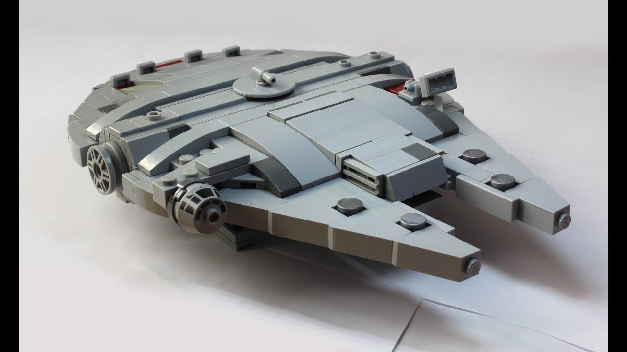Lego Millennium Falcon Instructions Youtube