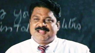 Telugu Movie Comedy Scenes - Lecturer Taking Politics Classes - Dharmavarapu Subramanyam