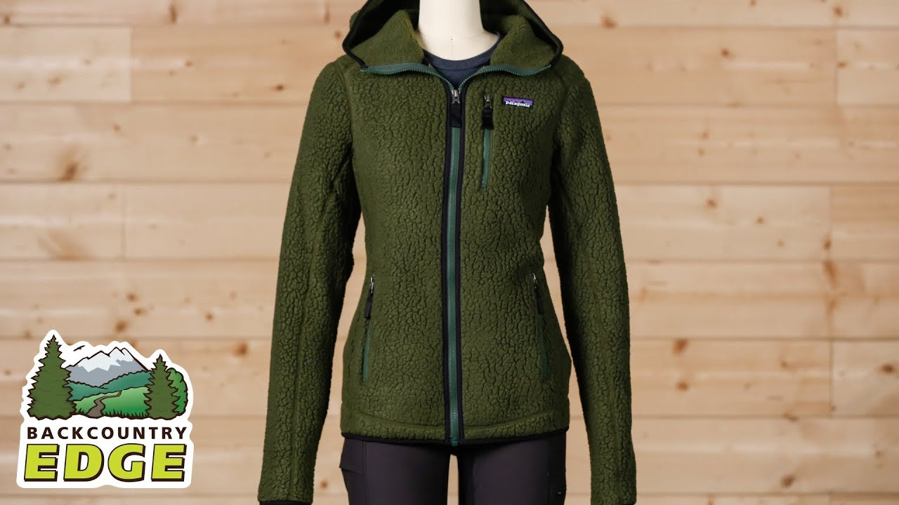 Patagonia Women s Retro Pile Hoody - YouTube 20700caa0