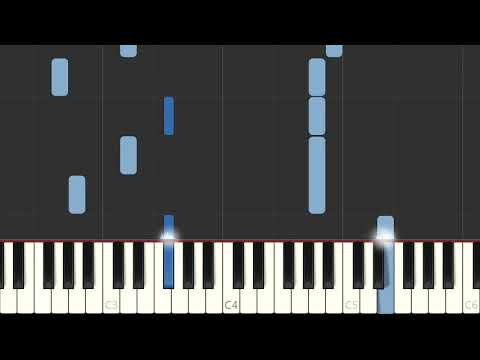 Franz Liszt's Liebestraum No.3 - Easy Piano version, synthesia
