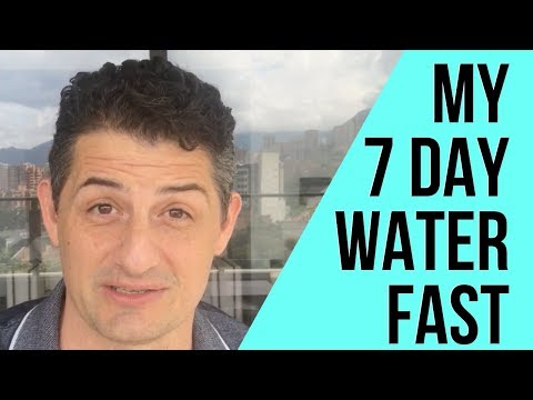 I FASTED FOR 7 DAYS! | My 7 Day Water Fast Experience