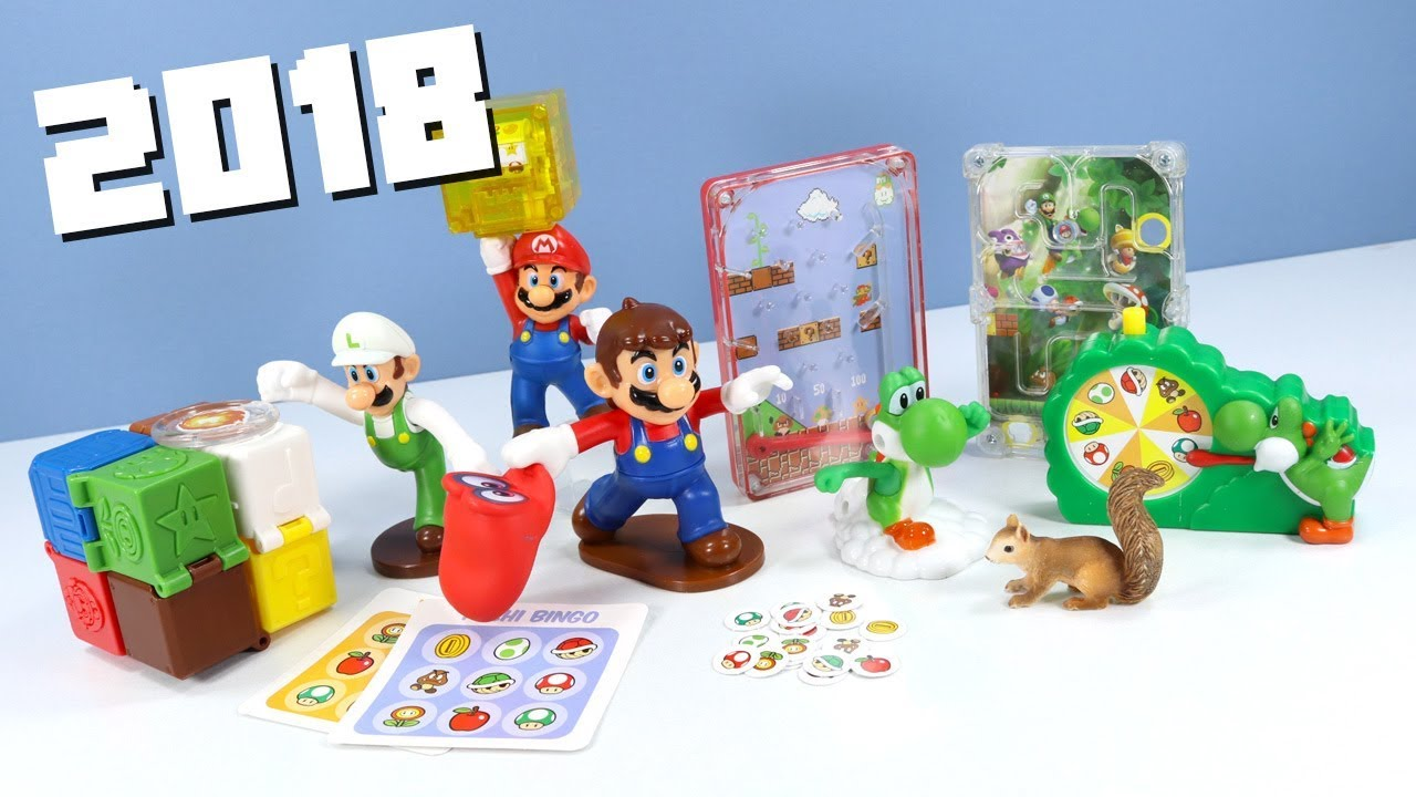 Happy Meal Super Mario 2018 Mcdonalds Collection
