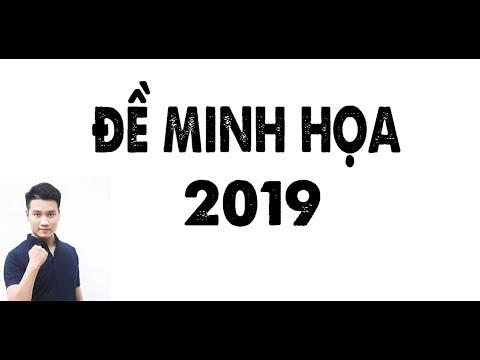 Giải ĐỀ MINH HỌA 2019 (Bản Full) _Thầy Nguyễn Quốc Chí