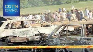 Incendio de camión cisterna deja 153 muertos y más de 100 heridos en Pakistán