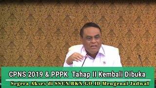 Download Video Penerimaan CPNS 2019 & PPPK Tahap II Kembali Dibuka Via SSCN.BKN.GO.ID MP3 3GP MP4