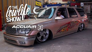 The lowlife Show - Big 10 Garage & Panda Built - brought to you by AccuAir