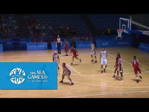 Basketball Mens Indonesia vs Timor-Leste (Day 4) | 28th SEA Games Singapore 2015