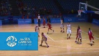 Gambar cover Basketball Mens Indonesia vs Timor-Leste (Day 4) | 28th SEA Games Singapore 2015