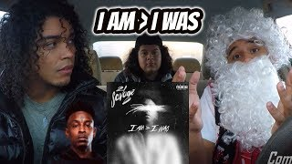 21 SAVAGE - I AM } I WAS (FULL ALBUM) REVIEW REACTION