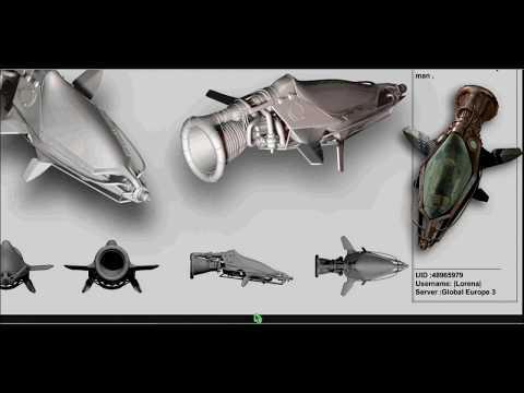 Darkorbit - 10 New ship design ^^