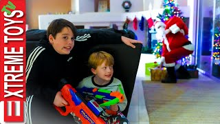 We're Gonna Catch the Santa Claus Man! Sneak Attack Squad Holiday Music Video