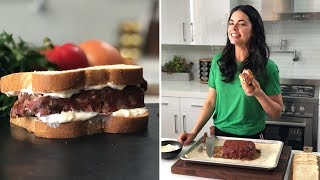 How to Make Katie's Meatloaf Sandwiches   Food Network
