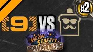 Twitch Plays Hearthstone Bo5: Day[9] vs DisguisedToast