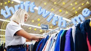 COME THRIFT WITH ME   THRIFTING PINTEREST DUPES FOR FALL + try on haul !