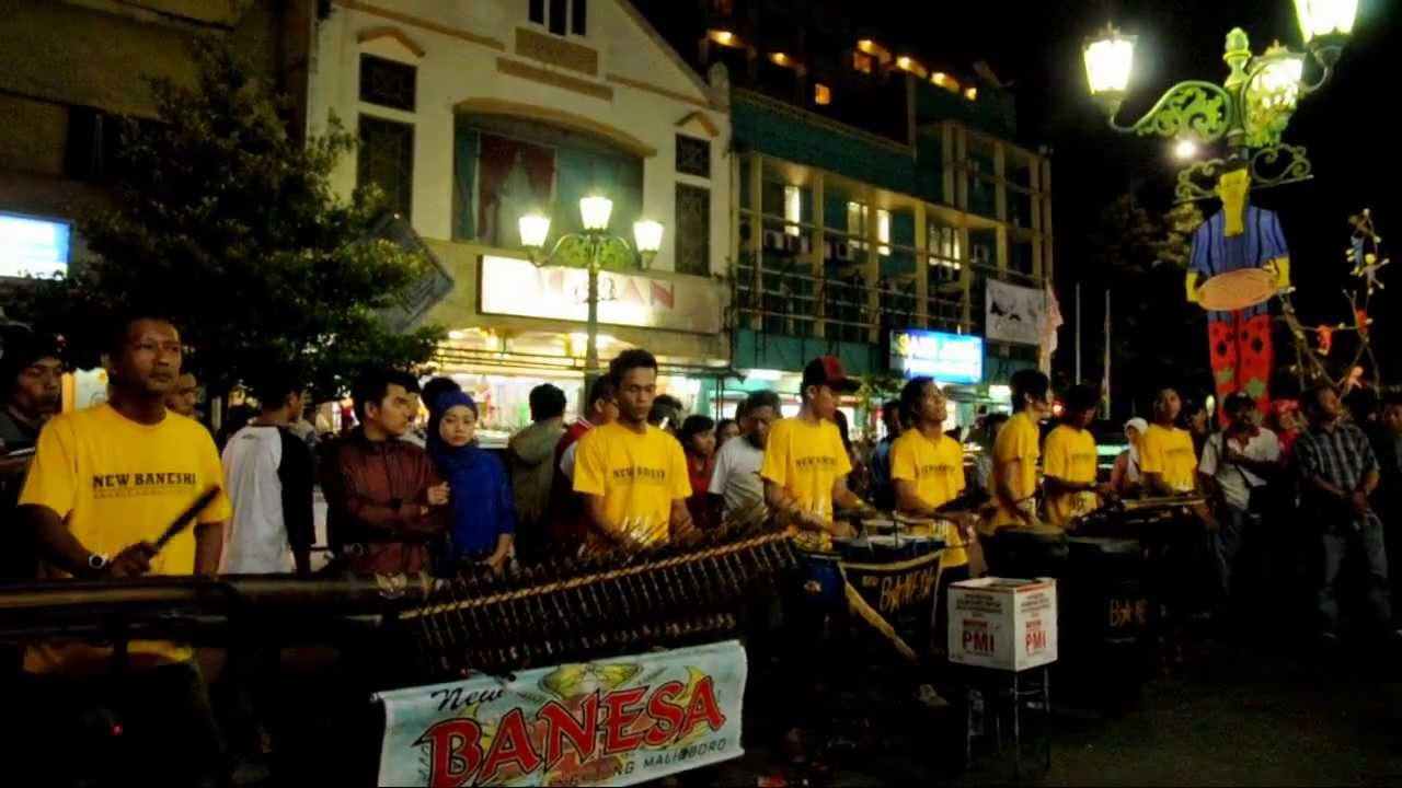You Rise Me Up (Angklung Version) at Malioboro Street