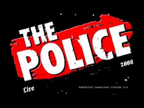 """THE POLICE - Mansfield,MA """"Comcast Center"""" 31-07-08 U.S.A. (full show)"""