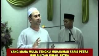 Sultan Kelantan Al Sultan Muhammad ke-V- Sultan yang dekat dengan Islam rapat dengan rakyat [HQ].mp4