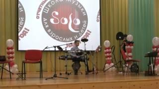 Обучение игре на барабанах в Барнауле. Матвей Канин, ударные.