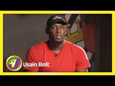 Usain Bolt Comments on Antonio Watson Gun Gesture | TVJ Entertainment Report | TVJ News