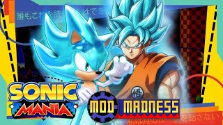 Sonic Mania PC - Super Sonic Blue Dragonball Super Mod & Quartz Quadrant - Mod Madness