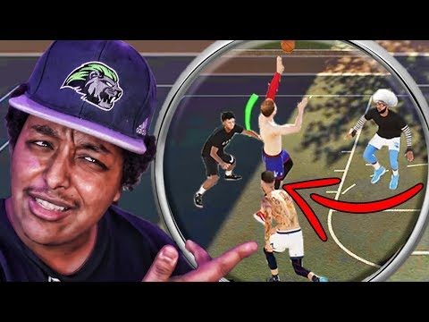 Agent 00 called me a hacker because I made these shots... | NBA 2K19 Park