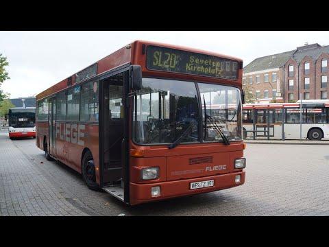 [Sound] Bus MAN SL 202 (WES-TZ 351) der Fa Reised. Fliege Ohlenforst Verkehrs GmbH, Kamp-Lintfort