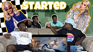 Iggy Azalea - Started (Official Music Video)(Reaction)