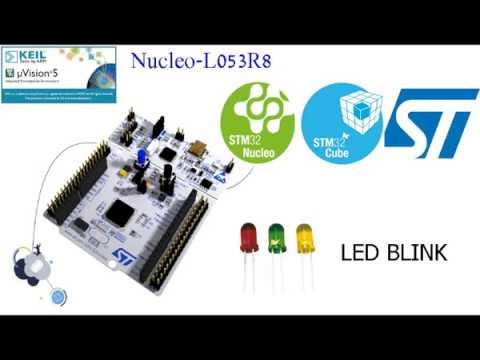 Nucleo Blink Led