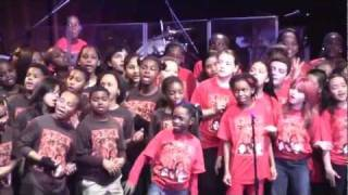 """We Found Love"" PS22 Chorus @ Sinead O'Connor Concert @ Highline Ballroom 2-24-12"