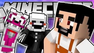 Minecraft Fnaf: Sister Location - Who Is The Maintance Guy (Minecraft Roleplay)