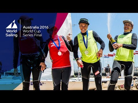 Sailing World Cup Melbourne Final Highlights Show