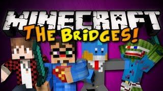 Minecraft Mini-Game: THE BRIDGES w/ BajanCanadian, HuskyMudkpiz, & Bashur! (HD)