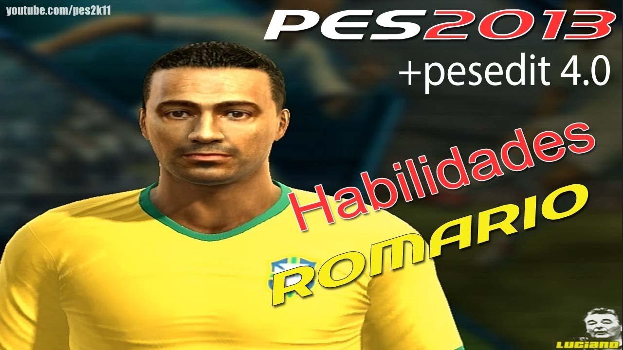 Romario Habilidades PES 2013 PESEDIT
