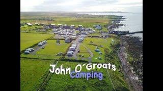 CAMPINGPLATZ John O´Groats Caravan and Campingsite I Schottland 🚌 vlog#18