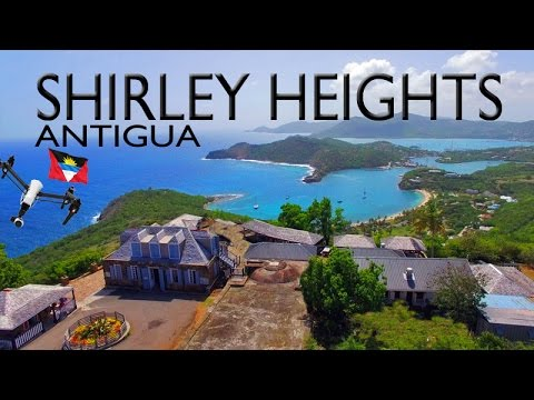 ANTIGUA ~ Shirley Heights ~ Sunset Party ~ Best UAV Drone Caribbean Aerials ~ WeBeYachting.com