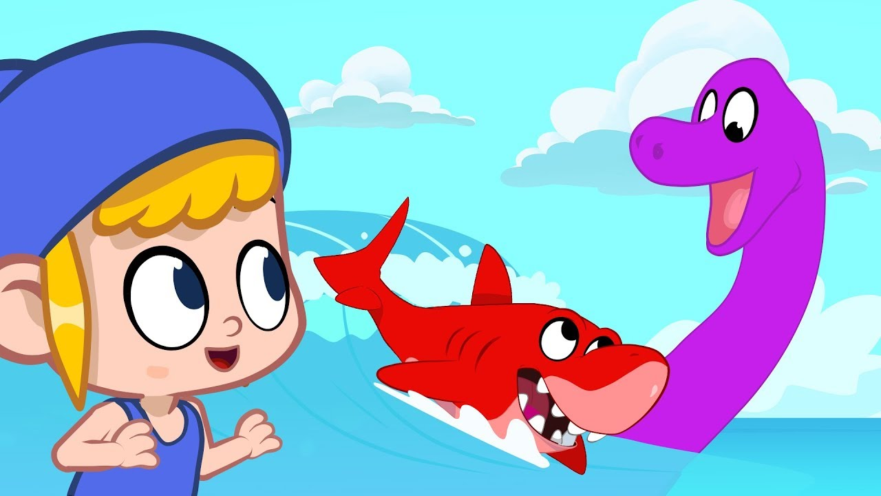 Morphle meets a Giant Seamonster! My Magic Pet Morphle episodes for kids (Shark, Dolphin, Submarine)