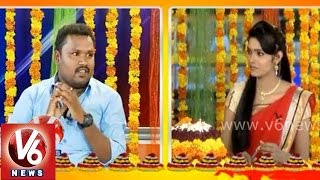 Chitchat with V6 Bathukamma song lyricist Thirupathi Matla