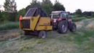Massey Ferguson 2685 + prasa Rivierre Casalis RC121