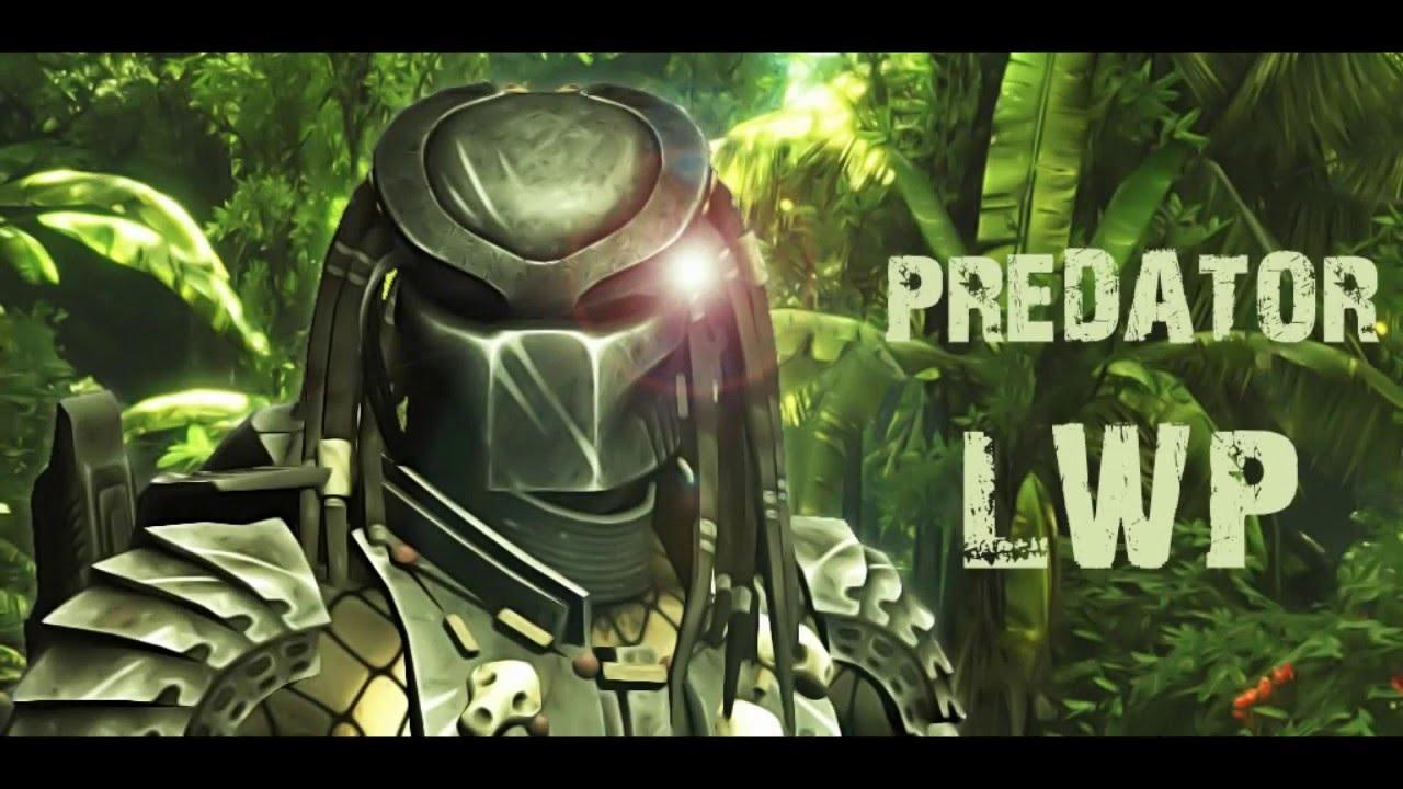 predator live wallpaper / Хищник Живые Обои - youtube