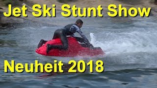Movie Park Germany Crazy Cops Jet Ski Stunt Show 11.05.2018 – Neuheit 2018 - Santa Monica Pier Show