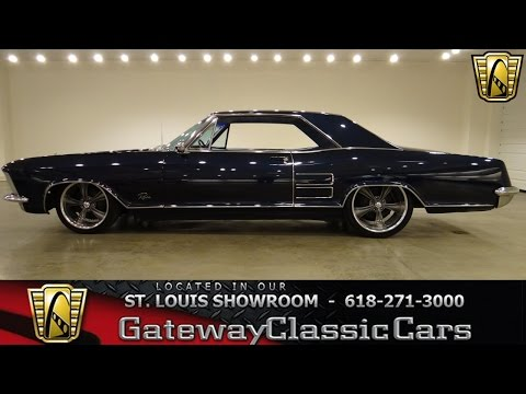 1964 Buick Riviera for sale at gateway classic cars stock #6377