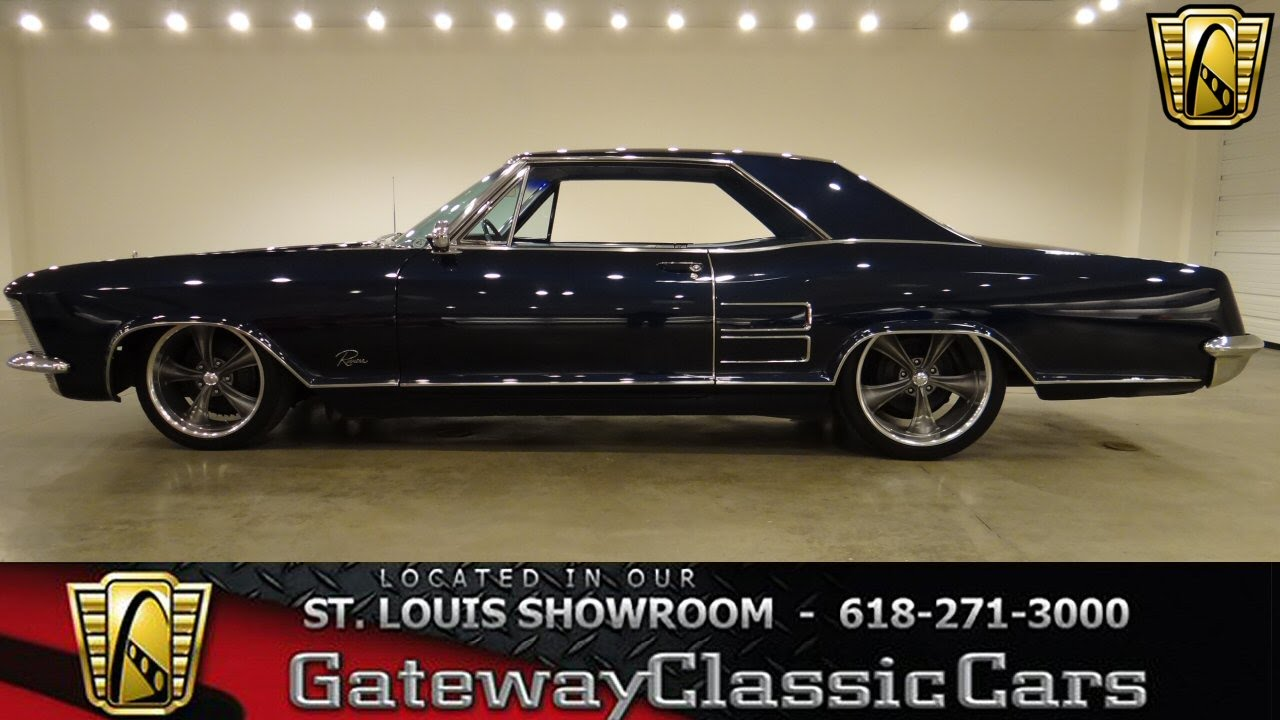 1964 buick riviera for sale at gateway classic cars stock. Black Bedroom Furniture Sets. Home Design Ideas